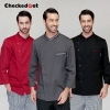 adjustable sleeve chef jacket top uniforms