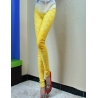 Yellowexclusive design young fashion lace floral leggings