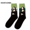 color 7fashion famous painting art printing socks cotton socks men socks women socks