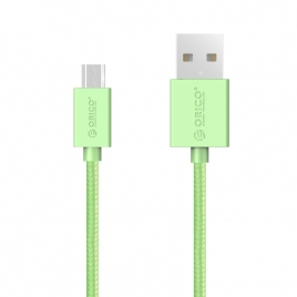 high quality USB2.0 Max Power Micro B 3.3 Ft Round USB Cable-BK (ADC-10)