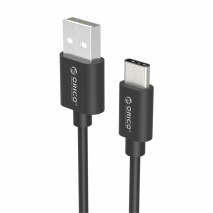 USB2.0 A to Type-C 0.8Ft / 0.25M Charge & Sync Cable (ECU-02)