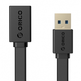 USB3.0 AM to AF 3.3Ft / 1M Flat USB Cable (CEF3-10)