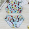 color 2perfume bottle  two piece set teen girl  swimwear