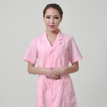 high qualiy summer front opening nurse coat