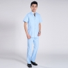 bluesummer front opening male nurse suits uniforms