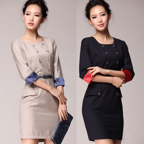 15dfe3914ee 2015 formal design career business office women s dress