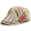 color 2casual personality patchwork outdoor hat cap