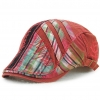 color 3casual personality patchwork outdoor hat cap