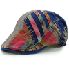 color 4casual personality patchwork outdoor hat cap