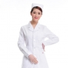 Whitefree shipping,solid color long sleeve autumn Nurse suit coat uniform