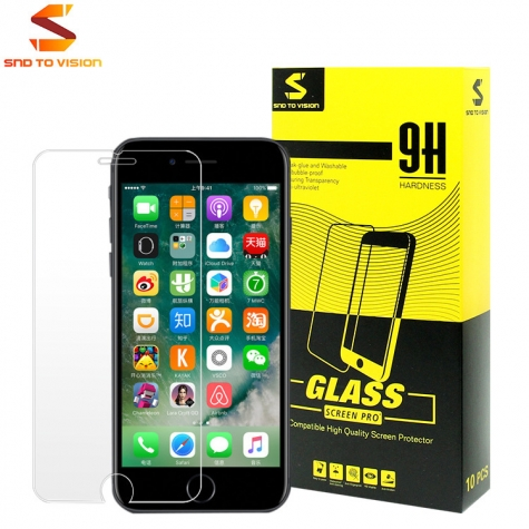 premiuim iphone 6 iphone 7 plus tempered glass  screen protector PET screen protector