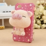 cute  Rhinestones pig iphone 6 iphone 7 case customization supportted