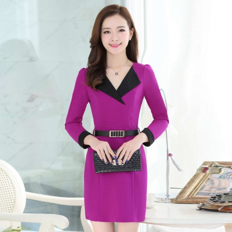 office style fashion lady work dress