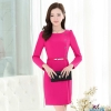 rosefashion sweaty long sleeve women dress for work