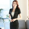 Blackgood fabric fashion design women office clerk work suit