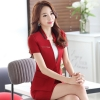 Winegood fabric fashion design women office clerk work suit