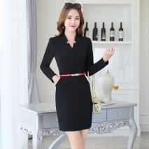high quality chic women long sleeve dress for work