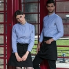 2017 fall restaurant wait staff waiter shirt uniforms