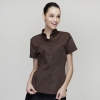 short sleeve coffee waitress shirt