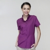 short sleeve purple waitress shirt