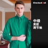 men greencandy color western dished restaurant waiter shirts waiter uniforms