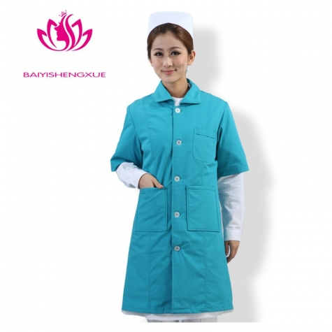 winter thicken cotton-padded jacket nurse lab coat