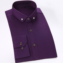 comfortable upgrade satin business men shirt