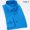 comfortable upgrade satin business men shirt purple color