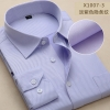 color 160% cotton men's long sleeve shirts company uniform