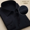 color 260% cotton men's long sleeve shirts company uniform