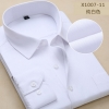 color 360% cotton men's long sleeve shirts company uniform