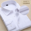 color 460% cotton men's long sleeve shirts company uniform