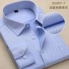 color 860% cotton men's long sleeve shirts company uniform