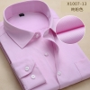 color 960% cotton men's long sleeve shirts company uniform