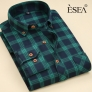 casual fashion checkered men shirt