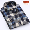 color 10casual fashion checkered men shirt