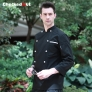 new design clothing buttons autumn chef coat chef jacket