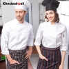 Europe style kitchen chef long sleeve uniforms fall design