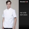 short sleeve white men designEurope style kitchen chef long sleeve uniforms fall design