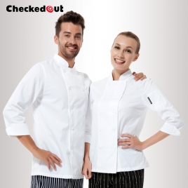 England fashion restaurant kitchen chef uniforms