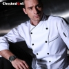 autumn new design unisex double breasted good quality chef jacket coat