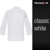 white coatautumn new design unisex double breasted good quality chef jacket coat