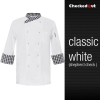 white shepherd coatautumn new design unisex double breasted good quality chef jacket coat
