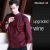 upgraded wine coatautumn new design unisex double breasted good quality chef jacket coat