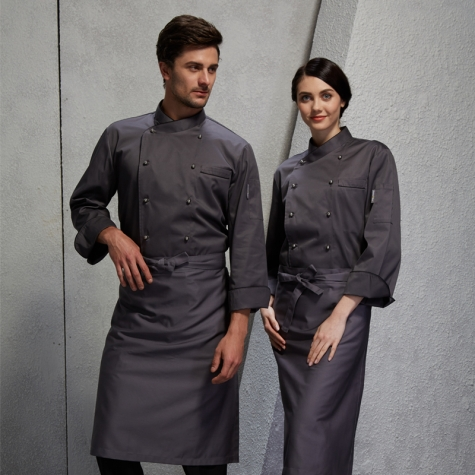 classic popular good quality chief chef coat jacket unisex design