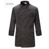 unisex grey(black hem) coatGermany design restaurant cake shop baker jacket chef coat uniform