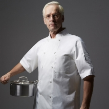 classic design chef jacket uniform with pocket