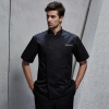 unisex black coatfashion Asian restaurant food kitchen chef jacket uniform