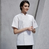 unisex white coatfashion Asian restaurant food kitchen chef jacket uniform