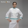 high grade long sleeve  chef  coat uniforms special design for women